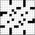 Play Free Crossword Puzzles From The Washington Post   The   Washington Post Crossword Printable Version