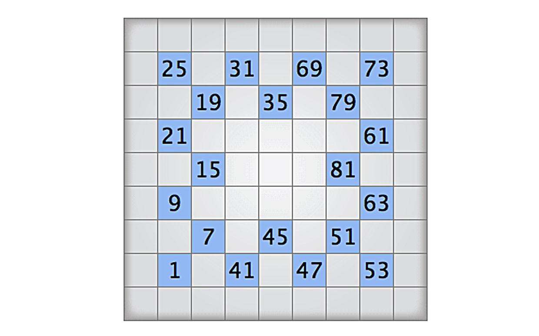 Play Today's Numbrix Puzzle - Printable Numbrix Puzzles
