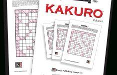 Printable Puzzles Kakuro