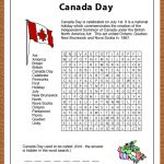 Print This Free Learning Resource For Your Kids. This Canada Day   Printable Puzzle Of Canada