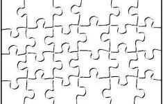 Printable Blank Puzzle Piece Template | School | Art Classroom – Printable Colored Puzzle Pieces