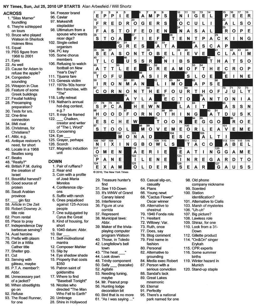 Printable Crossword Dictionary ÀŽfire Sign〠- Boston Globe Sunday Crossword Puzzle Printable