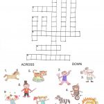 Printable Crosswords Puzzles Kids | Activity Shelter   Printable Crossword Puzzles Horses