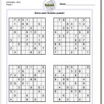 Printable Evil Sudoku Puzzles | Math Worksheets | Sudoku Puzzles   Printable Crossword Puzzles Livewire