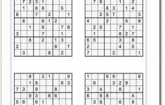 Printable Sudoku Puzzles Krazydad