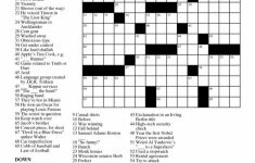 Printable Free Crosswords & Free Printable Crossword Puzzles Sc 1 – Printable Crossword Letters