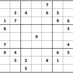 Printable Hard Sudoku | Printable   Difficult Sudoku Puzzles   Printable Puzzle Sudoku