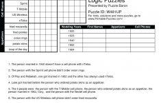 Printable Grid Puzzles