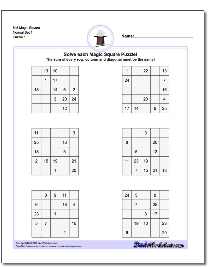 Printable Logic Puzzles The Printable Logic Puzzles On This Page Are - Printable Logic Puzzle