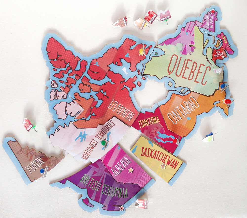 Printable Map Of Canada Puzzle | Play | Cbc Parents - Printable Puzzle Map Of Canada
