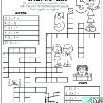 Printable Math Puzzles 5Th Grade Maths Ksheets Middle School Pdf Fun   Printable Puzzles Ks3