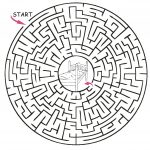 Printable Maze Puzzles   Google Search | My Garden | Mazes For Kids   Printable Labyrinth Puzzles