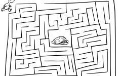 Printable Puzzles Mazes