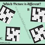 Printable Odd One Out Kakuro Picture Puzzle Fun With Puzzles   Printable Puzzles Kakuro