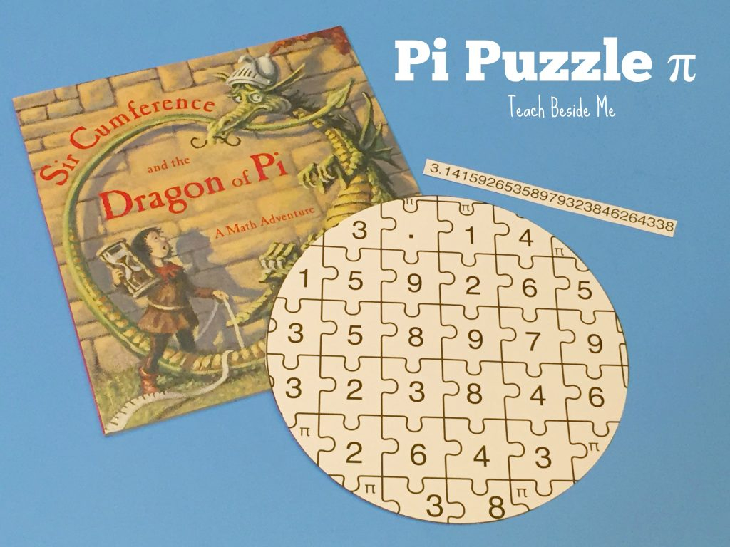 Printable Pi Puzzle For Pi Day – Teach Beside Me - Printable Puzzle Of The Day