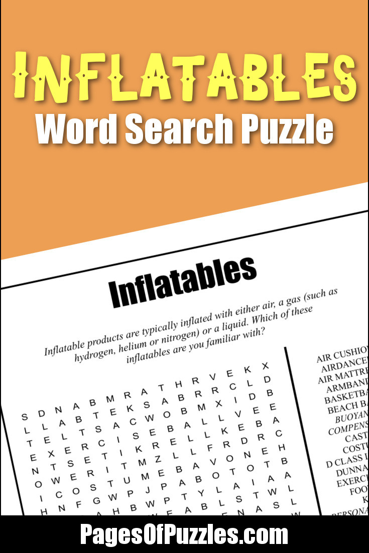 Printable Puzzles About Everything Else – Pages Of Puzzles - Printable Puzzles.com
