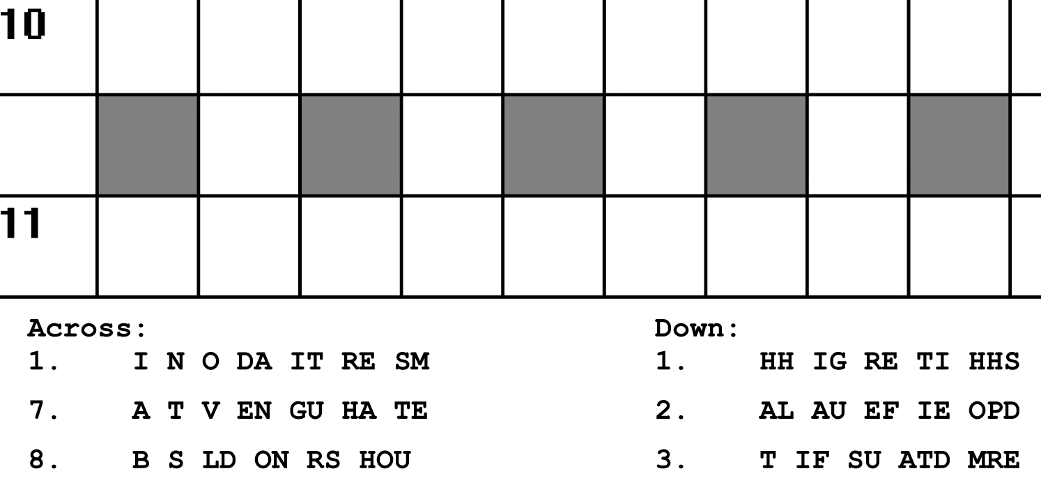 Printable Puzzles | Portfolio Categories | Puzzle Baron - Printable Rosetta Puzzles