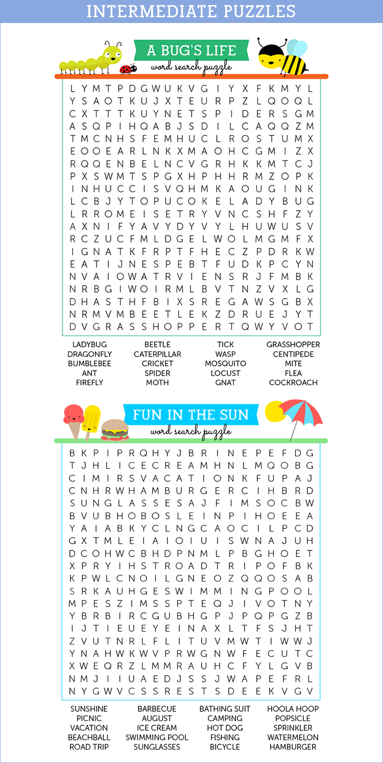 Printable Puzzles To Keep Your Kids Busy - Savvy Nana - Printable Puzzles To Do When Bored