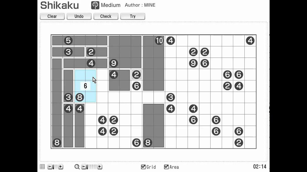 Printable Shikaku (Sikaku) Nikoli Number And Logic Puzzles For Math - Printable Numbrix Puzzles