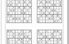 Printable Soduku | Ellipsis | Printable Sudoku Krazydad | Printable – Printable Puzzles By Krazydad