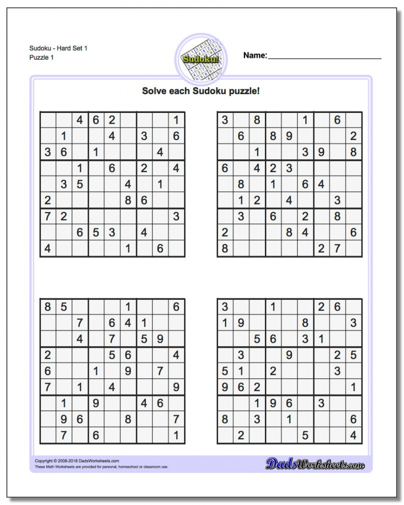 Printable Soduku | Ellipsis | Printable Sudoku Krazydad | Printable - Printable Sudoku Puzzles Krazydad