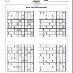 Printable Soduku | Room Surf   Printable Puzzle Sudoku