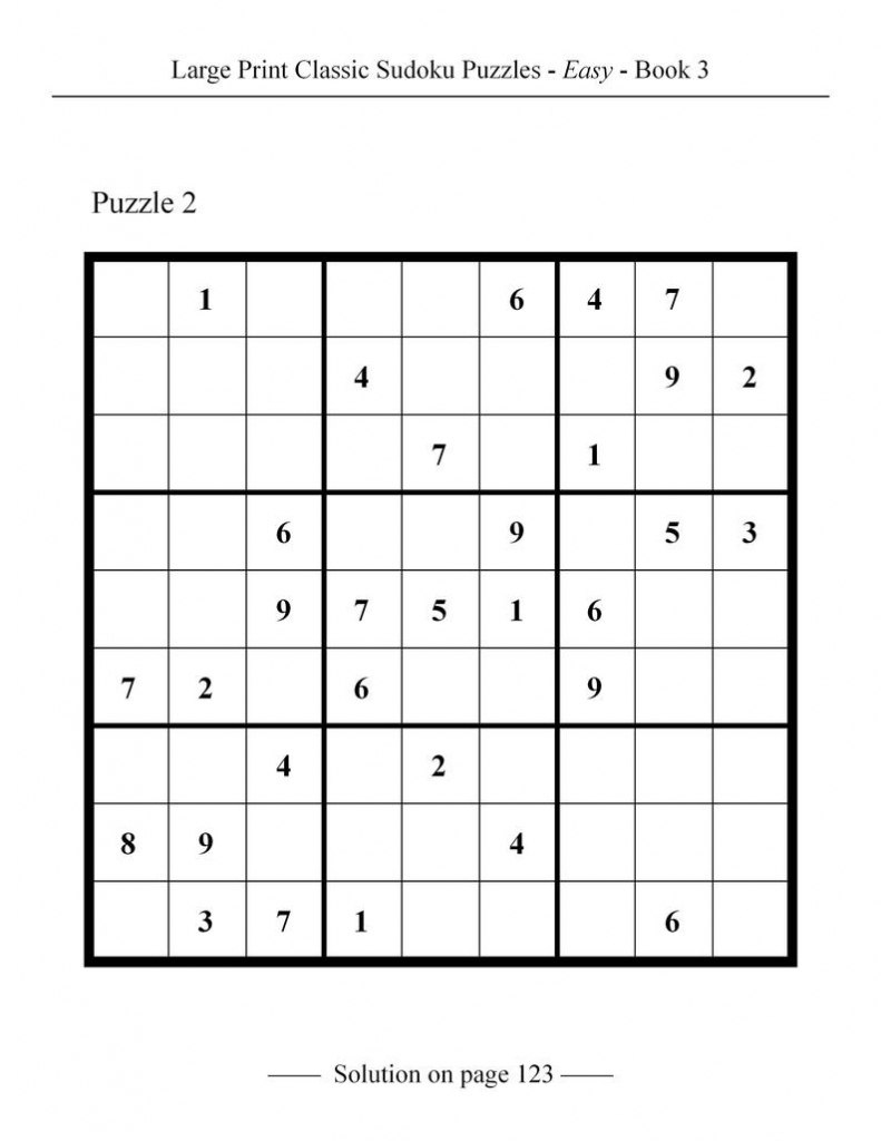 Printable Sudoku Classic | Printable Sudoku Free - Printable Sudoku Puzzles 4X4