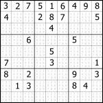 Printable Sudoku Free   Part 4   Printable Sudoku Puzzle With Answer Key