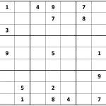 Printable Sudoku   Printable Sudoku Puzzle Site