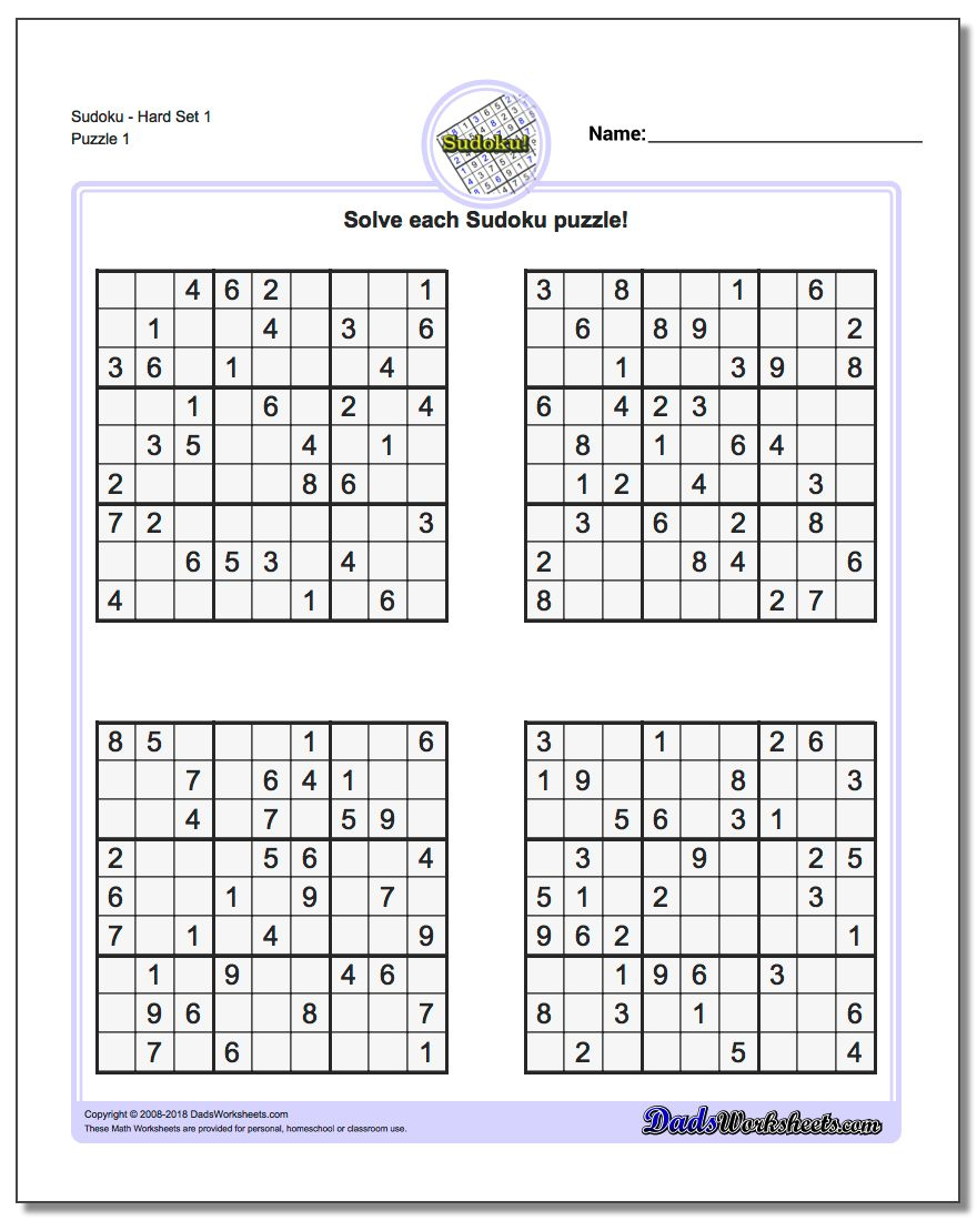 Printable Sudoku Puzzle | Ellipsis - Printable Sudoku Puzzles Easy #1