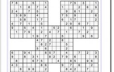 Sudoku Puzzle Printable With Answers