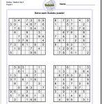Printable Sudoku   Yapis.sticken.co   Sudoku Puzzles Printable 6X6