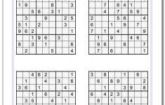 Printable Kakuro Puzzles Hard