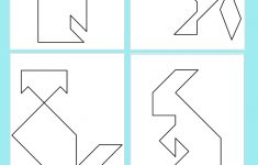 Printable Tangram Puzzle Templates