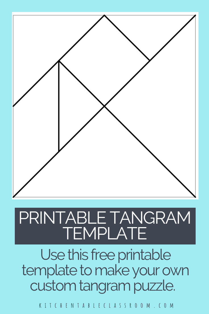 Printable Tangrams - An Easy Diy Tangram Template | Art For - Printable Tangram Puzzle