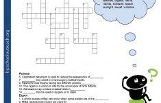 Printable Communication Crossword Puzzle