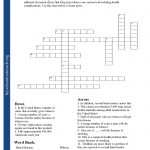Printable Worksheets   Printable Crossword Puzzle With Word Bank