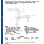 Printable Worksheets   Printable Quiz Crossword