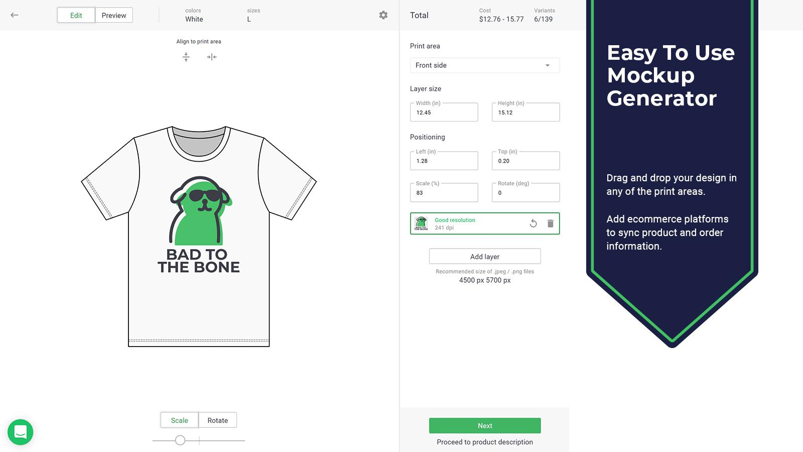 Printify: Print On Demand – Ecommerce Plugins For Online Stores - Puzzle Print On Demand