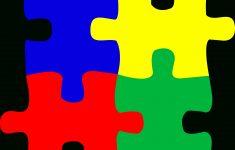 Free Printable Autism Puzzle Piece