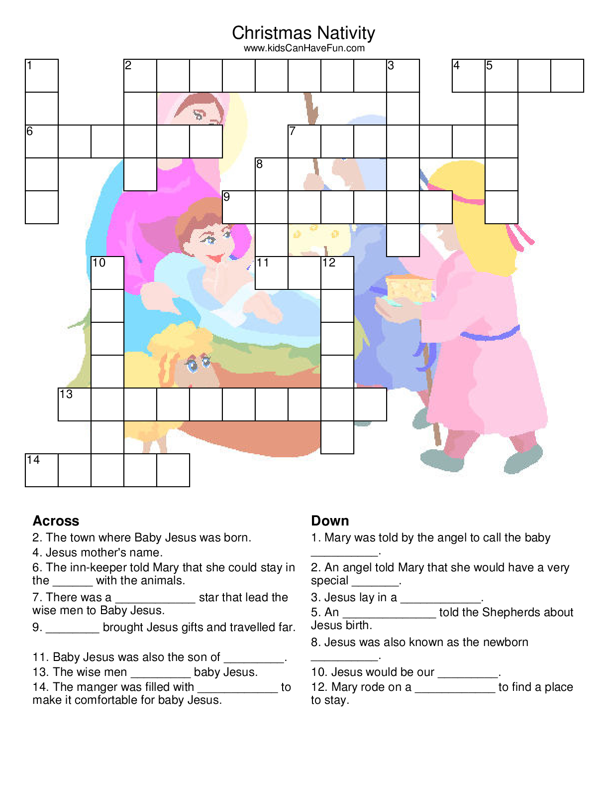 Puzzle For Kids Printable - Andyvanwye - Printable Quotefall Puzzles Free