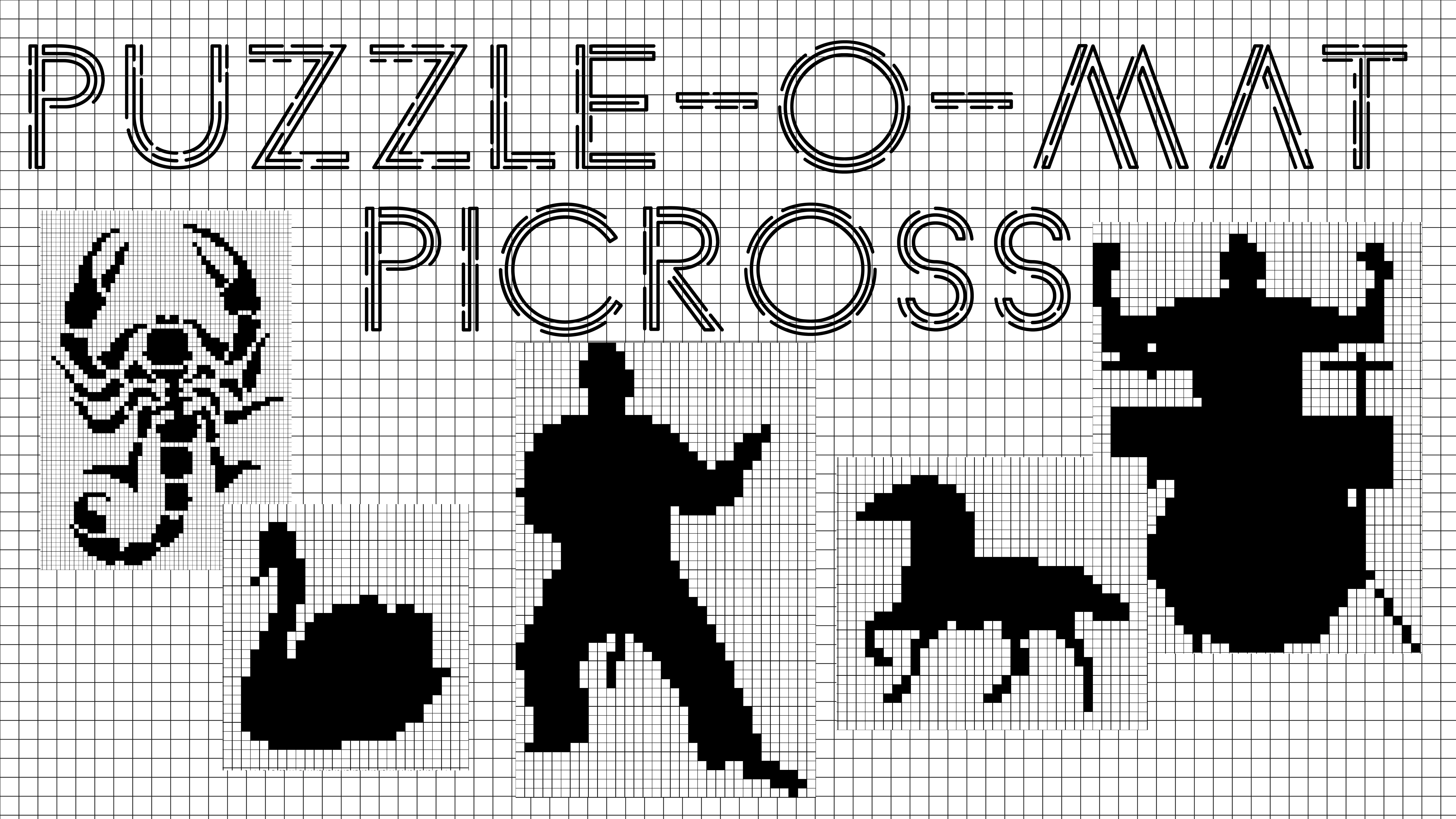 Puzzle Maker Nonogram Introduction | Designing For Print On Demand - Puzzle Print On Demand