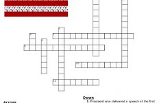 Free Printable Crossword Puzzles Holidays