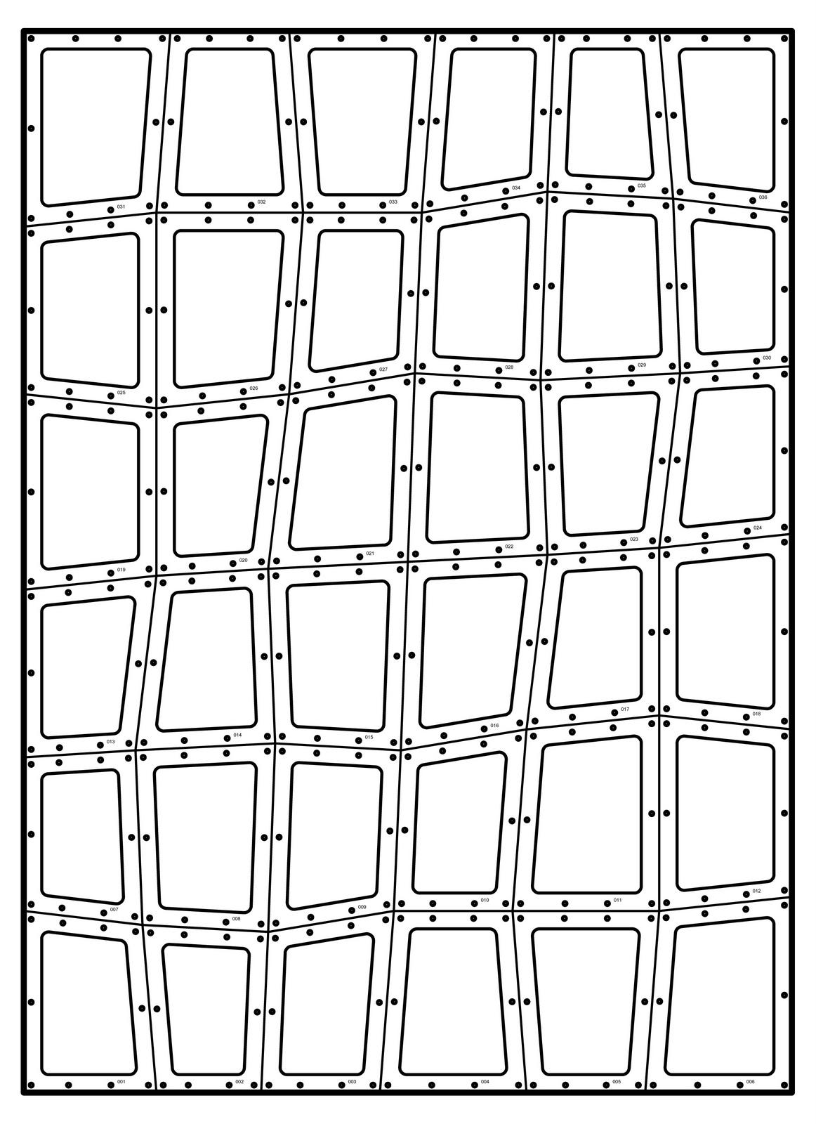 Reflective Tiled Sculpture Fabrication   Caliper Studio - Printable Numbrix Puzzles 2009