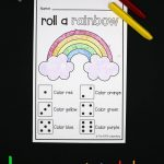 Roll A Rainbow   The Stem Laboratory   Printable Rainbow Number Puzzle
