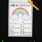 Roll A Rainbow   The Stem Laboratory   Printable Rainbow Puzzle