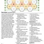 Rows Garden (Saturday Puzzle)   Wsj Puzzles   Wsj   Wall Street Journal Printable Crossword Puzzles