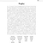 Rugby Word Search – Wordmint – Printable Crosswords Rugby