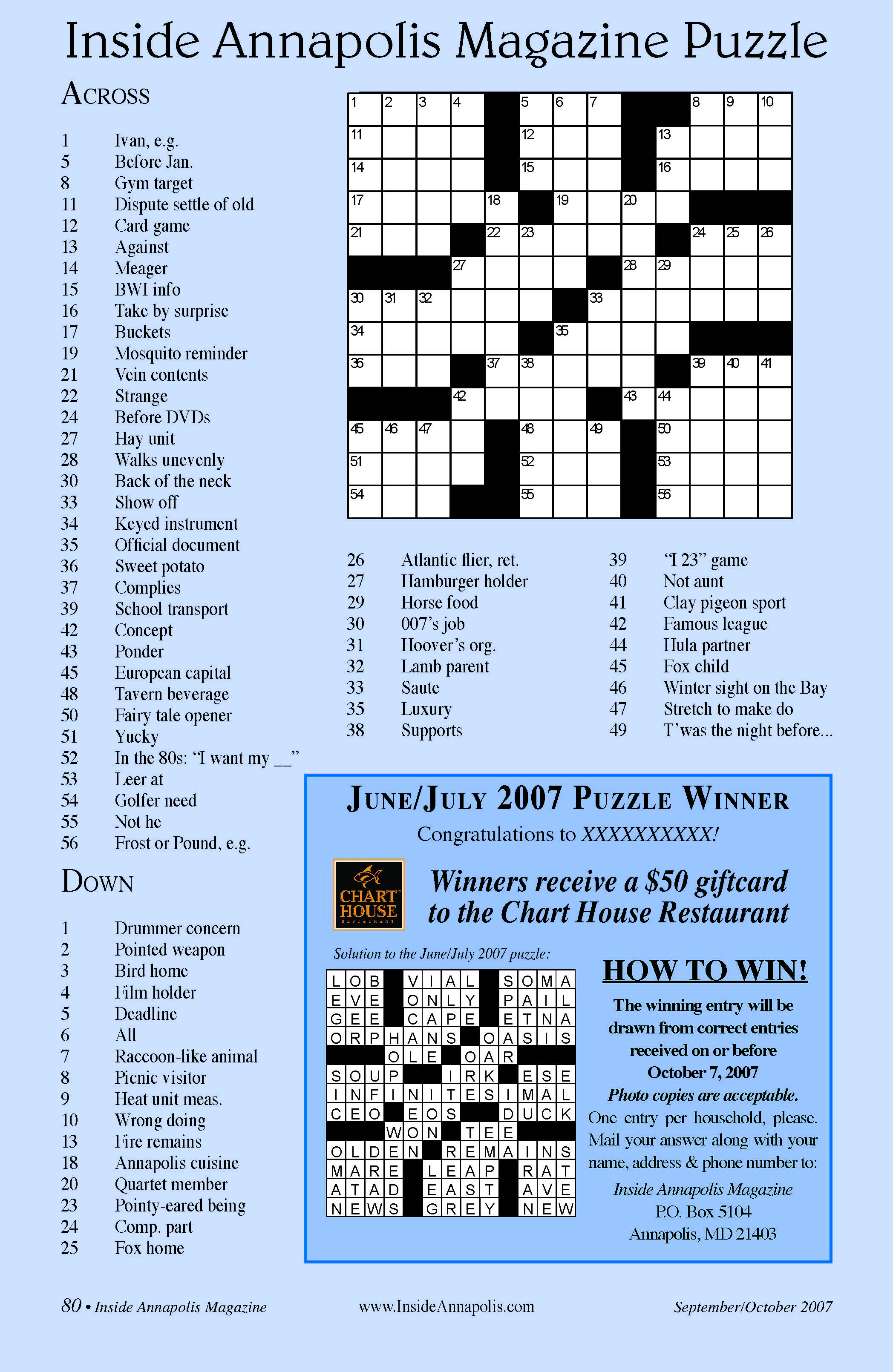 Saxilby.ukscouts.uk » Blog Archive » Large Print Crossword Puzzles - Large Print Crossword Puzzles Visually Impaired
