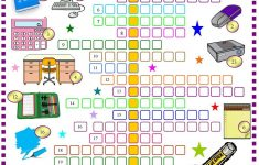 Printable Crossword Puzzle For Primary School